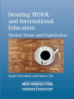 Desiring TESOL and International Education
