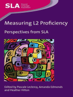 Measuring L2 Proficiency