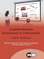 English-Medium Instruction at Universities: Global Challenges