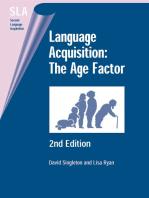 Language Acquisition: The Age Factor