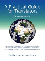 A Practical Guide for Translators