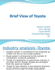 Brief View of Toyota
