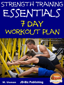 Strength Training Essentials: 7 Day Workout Plan