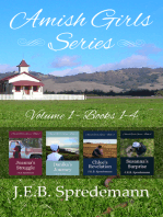 Amish Girls Series - Volume 1 (Boxed Set - Books 1-4)
