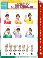 American Sign Language (Speedy Study Guides)