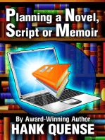 Planning a Novel, Script or Memoir