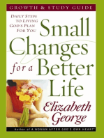Small Changes for a Better Life Growth and Study Guide
