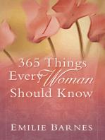 365 Things Every Woman Should Know