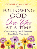 Following God One Yes at a Time