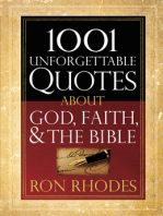 1001 Unforgettable Quotes About God, Faith, and the Bible
