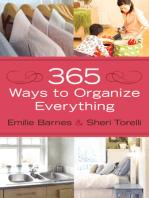365 Ways to Organize Everything