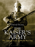The Kaiser's Army: The German Army in World War One