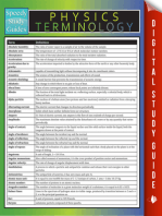 Physics Terminology