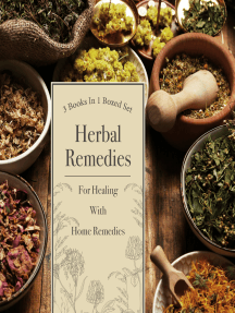 Herbal Remedies For Healing With Home Remedies: 3 Books In 1 Boxed Set: 3 Books In 1 Boxed Set