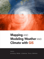 Mapping and Modeling Weather and Climate with GIS