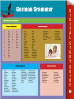 German Grammar: Summary of German Guide