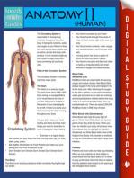 Anatomy II (Human) (Speedy Study Guides)