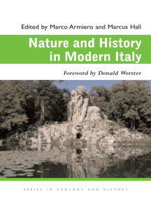 Nature and History in Modern Italy