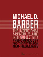 The Intentional Spectrum and Intersubjectivity: Phenomenology and the Pittsburgh Neo-Hegelians