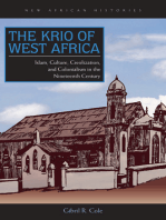 The Krio of West Africa: Islam, Culture, Creolization, and Colonialism in the Nineteenth Century