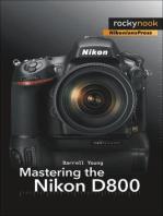Mastering the Nikon D800
