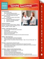 Nursing Assessment (Speedy Study Guides)