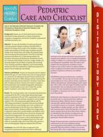 Pediatric Care and Checklist