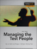 Managing the Test People