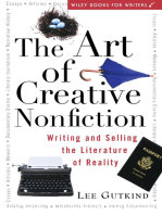 The Art of Creative Nonfiction