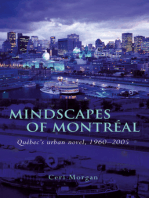 Mindscapes of Montreal: Quebec's Urban Novel, 1960-2005