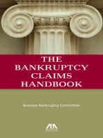 The Bankruptcy Claims Handbook