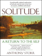 Solitude a Return to the Self