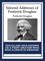 Selected Addresses of Frederick Douglass