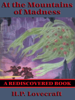 At the Mountains of Madness (Rediscovered Books)