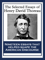 The Selected Essays of Henry David Thoreau