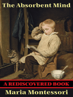 The Absorbent Mind (Rediscovered Books)