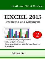 Excel 2013. Probleme und Lösungen. Band 2