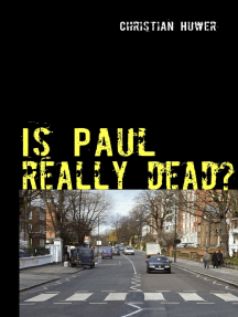 Is Paul really dead?: Gedanken über den Sinn oder Unsinn einer Verschwörungstheorie