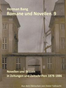 Romane und Novellen 9: Novellen und Skizzen in Zeitungen und Zeitschriften 1878-1886