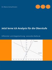 Jetzt lerne ich Analysis für die Oberstufe: Differential- und Integralrechnung - www.alles-Mathe.de