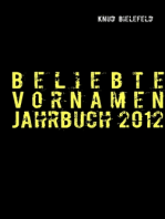 Beliebte Vornamen Jahrbuch 2012