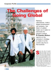 The Challenges of Going Global-Ranbaxy Laboratories