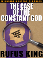 The Case of the Constant God