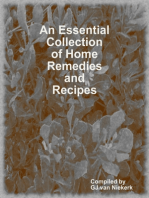 An Essential Collection of Home Remedies and Recipes