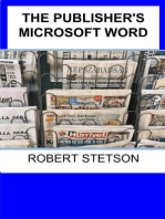 The Publisher's Microsoft Word