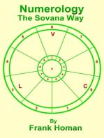 Numerology, The Sovana Way
