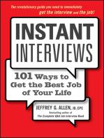 Instant Interviews