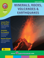 Minerals, Rocks, Volcanoes & Earthquakes