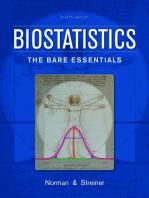 Biostatistics, 4e: The Bare Essentials