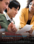P&G Our Worldwide Business Conduct Manual We Do the Right Thing